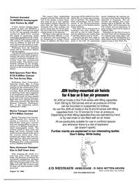 Maritime Reporter Magazine, page 3,  Aug 15, 1985 Alabama