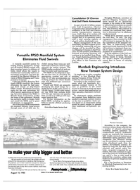 Maritime Reporter Magazine, page 5,  Aug 15, 1985 gas injection