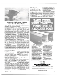 Maritime Reporter Magazine, page 9,  Sep 1985