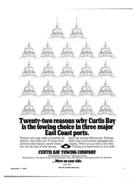 Maritime Reporter Magazine, page 11,  Sep 1985 Hampton Roads Headquarters