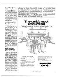 Maritime Reporter Magazine, page 25,  Sep 1985