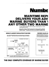 Maritime Reporter Magazine, page 42,  Sep 1985 WATERWAYS JOURNAL