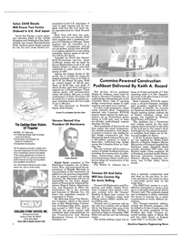 Maritime Reporter Magazine, page 6,  Sep 1985