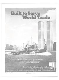 Maritime Reporter Magazine, page 9,  Sep 15, 1985 World Trade Center