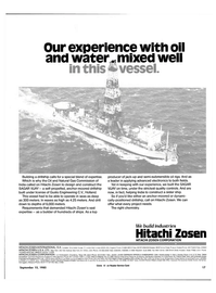 Maritime Reporter Magazine, page 15,  Sep 15, 1985