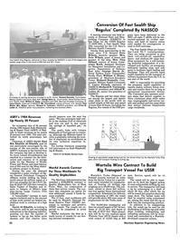 Maritime Reporter Magazine, page 20,  Sep 15, 1985 Korb