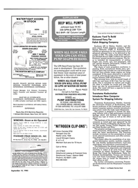 Maritime Reporter Magazine, page 35,  Sep 15, 1985 New Jersey