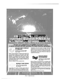 Maritime Reporter Magazine, page 4th Cover,  Sep 15, 1985 AMERICA PO