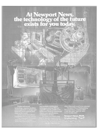 Maritime Reporter Magazine, page 21,  Oct 15, 1985 Newport News shipbuilding