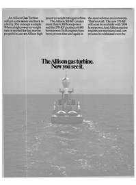 Maritime Reporter Magazine, page 22,  Oct 15, 1985 gas turbine