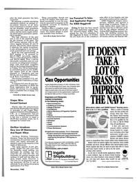 Maritime Reporter Magazine, page 99,  Nov 1985