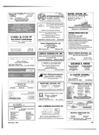 Maritime Reporter Magazine, page 101,  Nov 1985 east coast