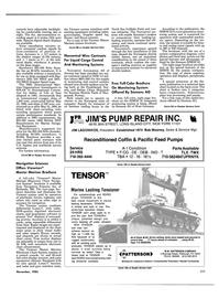 Maritime Reporter Magazine, page 105,  Nov 1985 Pennsylvania