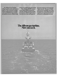 Maritime Reporter Magazine, page 12,  Nov 1985 gas turbine