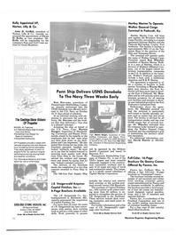 Maritime Reporter Magazine, page 14,  Nov 1985