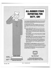 Maritime Reporter Magazine, page 25,  Nov 1985 Navy