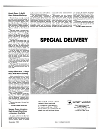 Maritime Reporter Magazine, page 35,  Nov 1985