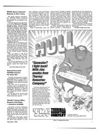 Maritime Reporter Magazine, page 3,  Nov 1985 M. Keller