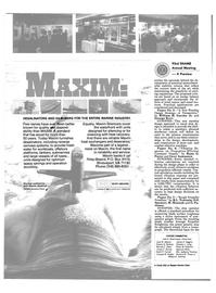 Maritime Reporter Magazine, page 48,  Nov 1985 Peter M. Palermo James