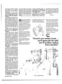 Maritime Reporter Magazine, page 49,  Nov 1985 North Carolina