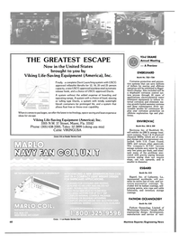 Maritime Reporter Magazine, page 62,  Nov 1985