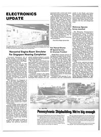 Maritime Reporter Magazine, page 84,  Nov 1985