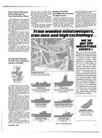 Maritime Reporter Magazine, page 91,  Nov 1985 Wisconsin