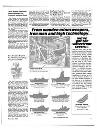 Maritime Reporter Magazine, page 91,  Nov 1985 Wisconsin