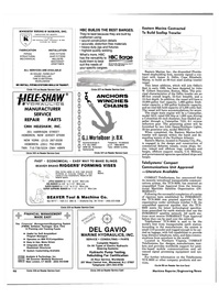 Maritime Reporter Magazine, page 92,  Nov 1985 Connecticut