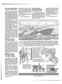 Maritime Reporter Magazine, page 95,  Nov 1985 New Jersey