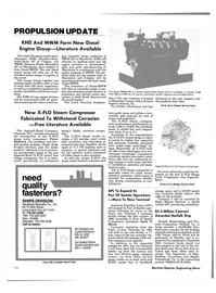 Maritime Reporter Magazine, page 96,  Nov 1985 North Carolina