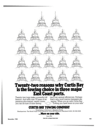 Maritime Reporter Magazine, page 97,  Nov 1985