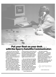 Maritime Reporter Magazine, page 13,  Dec 1985 satellite voice channels