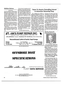 Maritime Reporter Magazine, page 20,  Dec 1985 West Coast