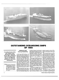 Maritime Reporter Magazine, page 22,  Dec 1985