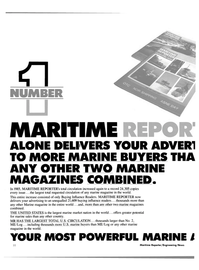 Maritime Reporter Magazine, page 32,  Dec 1985 United States