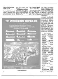 Maritime Reporter Magazine, page 34,  Dec 1985