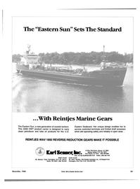 Maritime Reporter Magazine, page 39,  Dec 1985