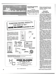Maritime Reporter Magazine, page 40,  Dec 1985