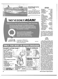 Maritime Reporter Magazine, page 42,  Dec 1985
