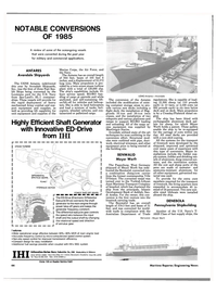 Maritime Reporter Magazine, page 44,  Dec 1985 Navy