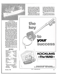 Maritime Reporter Magazine, page 45,  Dec 1985