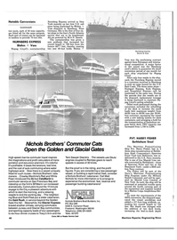 Maritime Reporter Magazine, page 48,  Dec 1985 The Glacier express