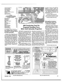 Maritime Reporter Magazine, page 77,  Dec 1985