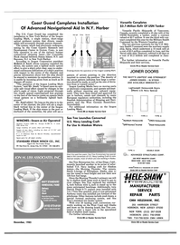 Maritime Reporter Magazine, page 87,  Dec 1985 Connecticut