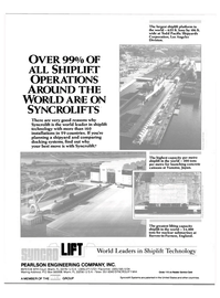 Maritime Reporter Magazine, page 4th Cover,  Dec 1985 United Kingdom