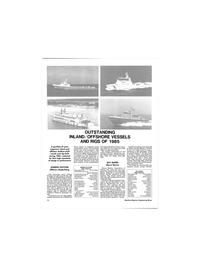 Maritime Reporter Magazine, page 10,  Jan 1986