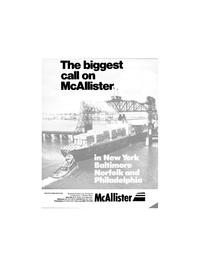 Maritime Reporter Magazine, page 1,  Jan 1986 New York