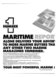 Maritime Reporter Magazine, page 8,  Jan 15, 1986 United States