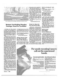 Maritime Reporter Magazine, page 13,  Jan 15, 1986